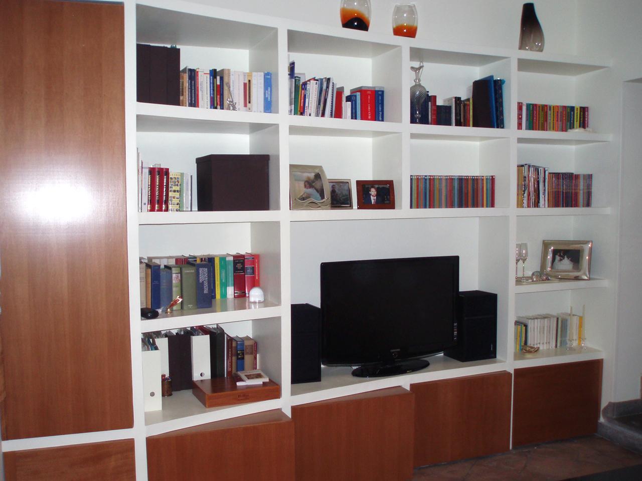 Parete Cartongesso Libreria ~ CaNLiC for .